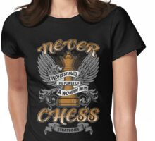 Chess T-shirt Womens Fitted T-Shirt