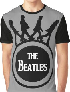 round beatles Graphic T-Shirt