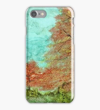 Fall Trees iPhone Case/Skin