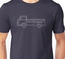 VW T2 Single Cab Blueprint Unisex T-Shirt