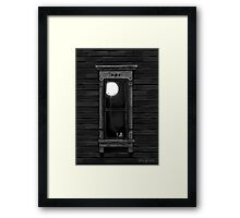 Light Headed Framed Print