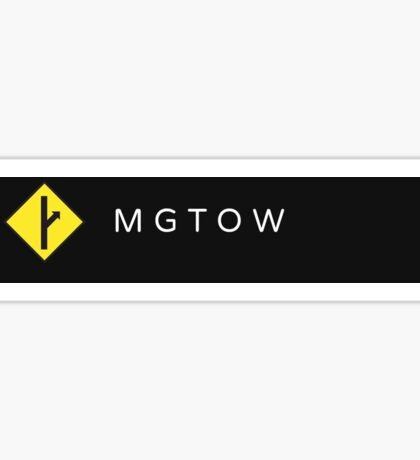 MGTOW Brand 2 Sticker