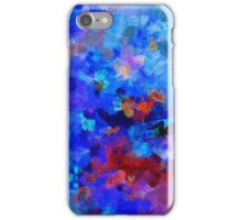 Abstract Seascape Painting iPhone Case/Skin