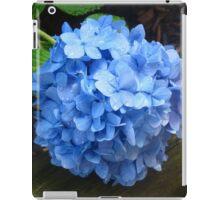 Blue Hydrangea  iPad Case/Skin