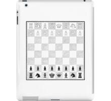 Victorian Chess Board iPad Case/Skin