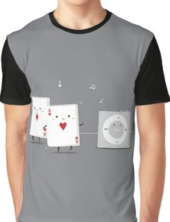 poker pocket A's Graphic T-Shirt