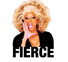 FIERCE - Rupaul by Joefishjones .