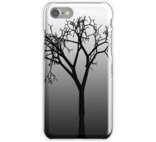 Tree Silhouette in Moonlight iPhone Case/Skin