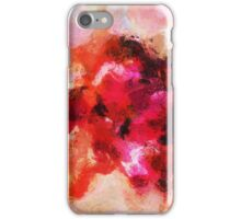 Pink Minimalist Abstract Painting iPhone Case/Skin