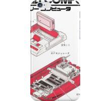 Famicom Diagram  iPhone Case/Skin