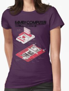 Famicom Diagram  Womens Fitted T-Shirt