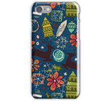 joyous jumble indigo iPhone Case/Skin