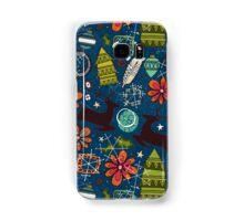 joyous jumble indigo Samsung Galaxy Case/Skin