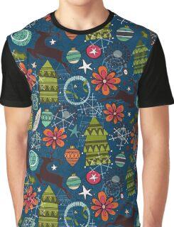 joyous jumble indigo Graphic T-Shirt