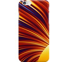 Color & Form Abstract - Solar Gravity and Magnetism 1 iPhone Case/Skin