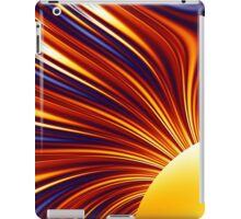 Color & Form Abstract - Solar Gravity and Magnetism 1 iPad Case/Skin