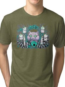 A Seance With Madame Meow-Meow, Gifted Medium Tri-blend T-Shirt