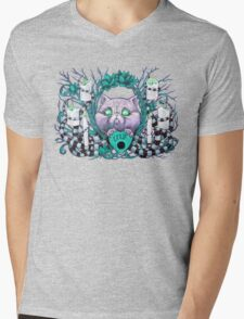 A Seance With Madame Meow-Meow, Gifted Medium Mens V-Neck T-Shirt