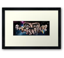 Thirteen Version 2 Framed Print