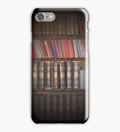 Vintage Books. iPhone Case/Skin
