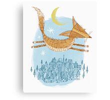 Flying Fox Canvas Print