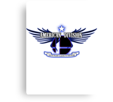 Super Smash Bros. American Division Canvas Print