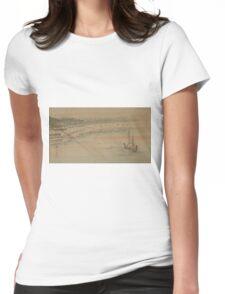 Fukeiga 16 - Hiroshige Ando - 1890 Womens Fitted T-Shirt