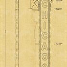 Chicago Theatre Blueprint by AndrewFare