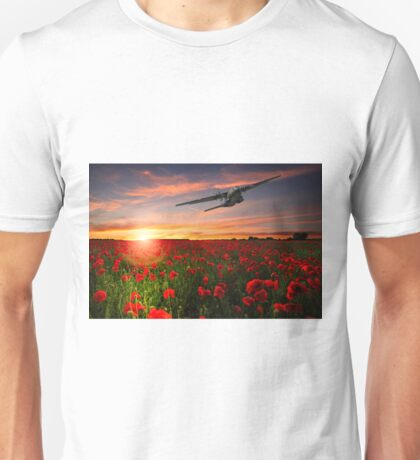 Big Boy Over The Poppy Fields Unisex T-Shirt