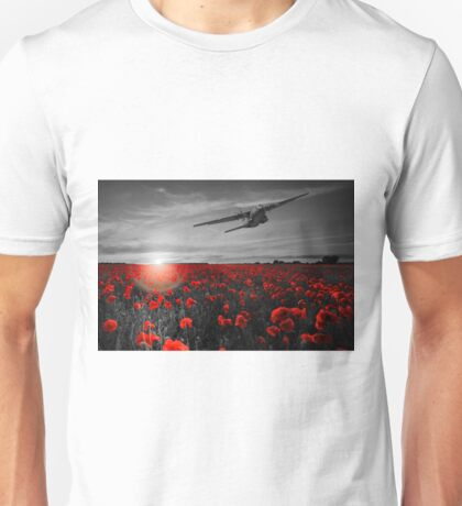 Big Boy Over The Poppy Fields Unisex T-Shirt