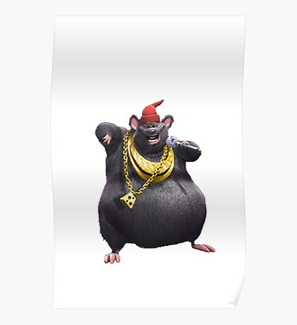 Biggie Cheese Poster