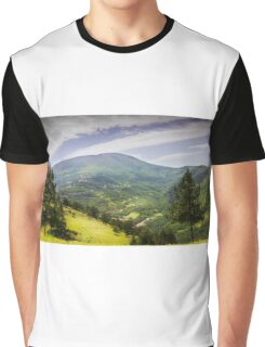 Valley mountain Graphic T-Shirt