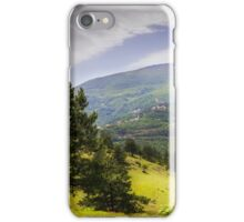 Valley mountain iPhone Case/Skin