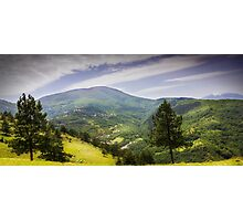 Valley mountain Photographic Print