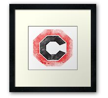C Red Corporation Vintage Framed Print
