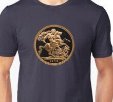 22 Carat Gold Sovereign 1979 Unisex T-Shirt