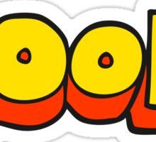 cool cartoon symbol Sticker