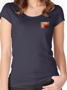 Apple Picking Time Women's Fitted Scoop T-Shirt