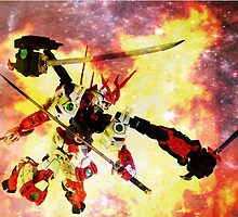 Sengoku Astray Through The Flames by Neo-Senku