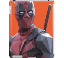 Polygonal Deadpool iPad Case/Skin