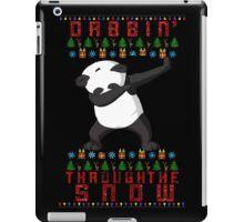 "Merry ""Dabbin' Bear"" Christmas iPad Case/Skin"