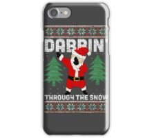 "Merry ""Dabbin' Santa"" Christmas iPhone Case/Skin"