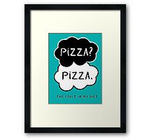 The Fault In My Diet Framed Print