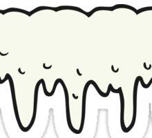 cartoon dripping splat Sticker