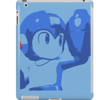 The Blue (and cyan) Bomber iPad Case/Skin