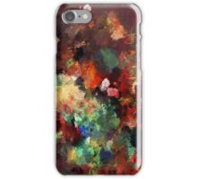 Colorful Contemporary Abstract Painting iPhone Case/Skin