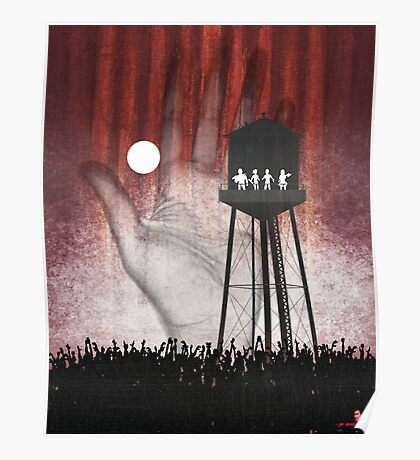 Night at the Water Tower Poster