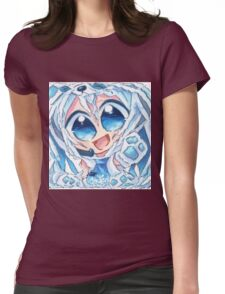 Chibi anime Womens Fitted T-Shirt