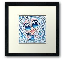 Chibi anime Framed Print