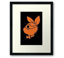 Playboy Turtle: Michelangelo Framed Print